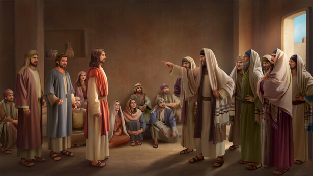 jesus und die pharisäer