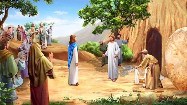 Jesús lleva a cabo milagros