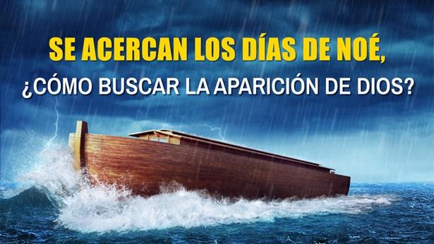 Se acercan los días de Noé, ¿cómo debemos buscar la aparición de Dios