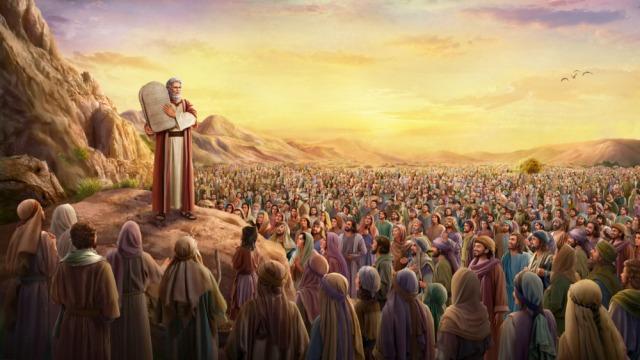 Mosè emanava la legge