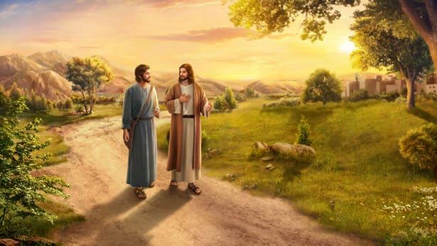 il Signore Gesù parla con Pietro