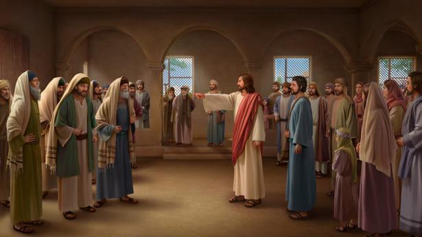 Il Signore Gesù rimprovera i farisei