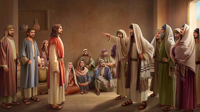 i farisei non accettano il nome nuovo di Dio