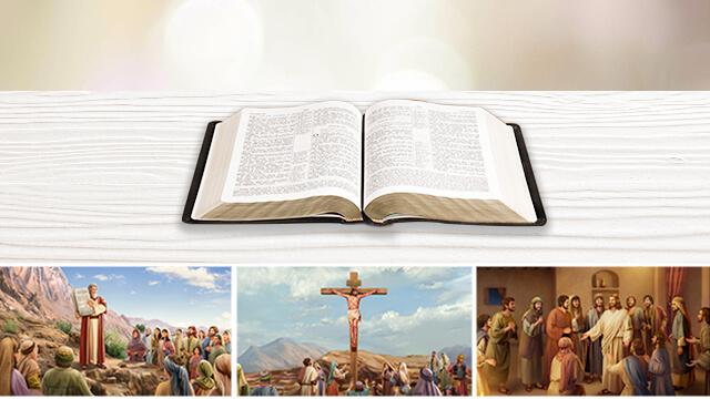 la bibbia, l'eta' della legge, l'eta' della grazia, l'opera di Dio