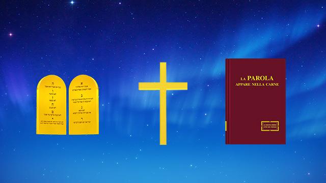 lo scopo e il significato di ciascuna delle tre fasi dell'opera di Dio