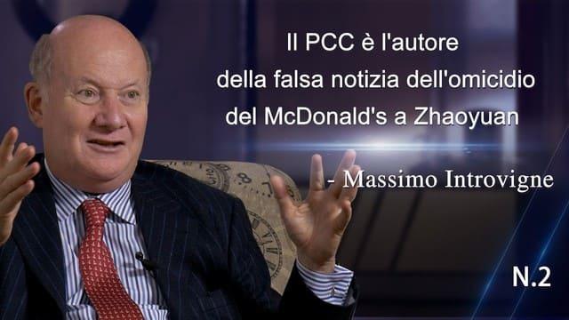 Il PCC è l'autore della falsa notizia dell'omicidio del McDonald's a Zhaoyuan - Massimo Introvigne