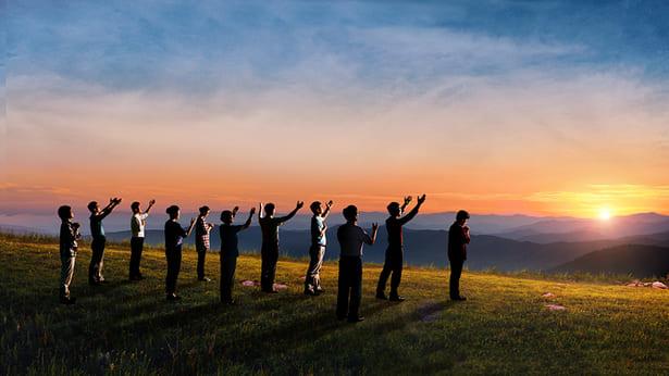 i cristiani aspettare il ritorno di Gesù per essere rapiti nel regno dei cieli