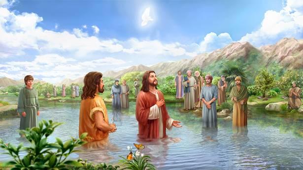 主耶稣受洗的意义