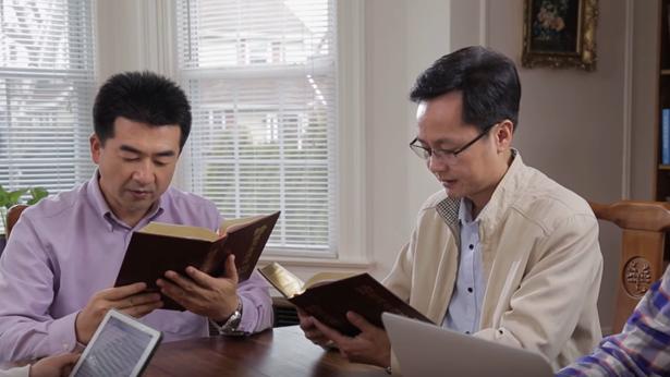 教会,灵修,读神话语