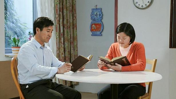 夫妻俩一起读神话语