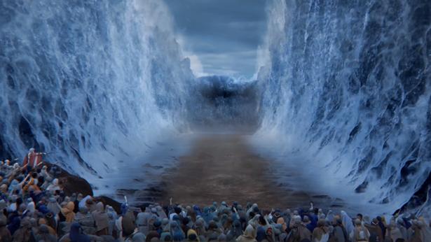 过红海,摩西,以色列人出埃及