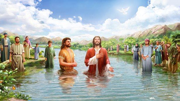 约翰,主耶稣,施洗