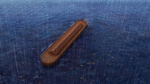 挪亞方舟,洪水滅世
