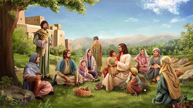 主耶稣与人同生活