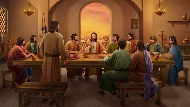 主耶稣与门徒腓力对话