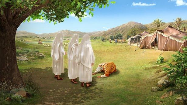 神的使者临到亚伯拉罕