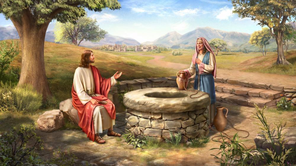 撒瑪利亞婦人的故事