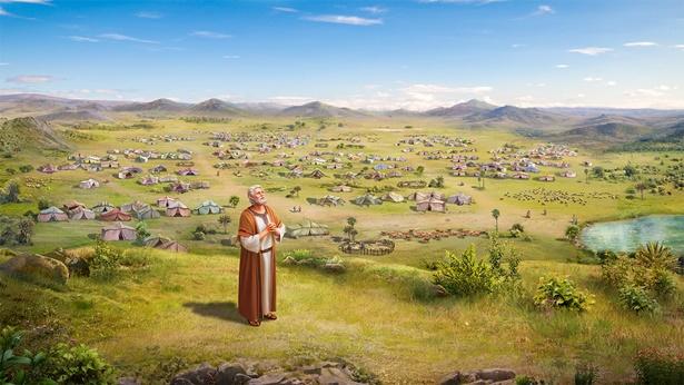 亞伯拉罕接受神賜福
