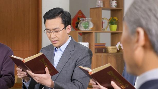 几个弟兄聚会读神话