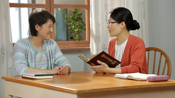 两个姊妹一起读神话语