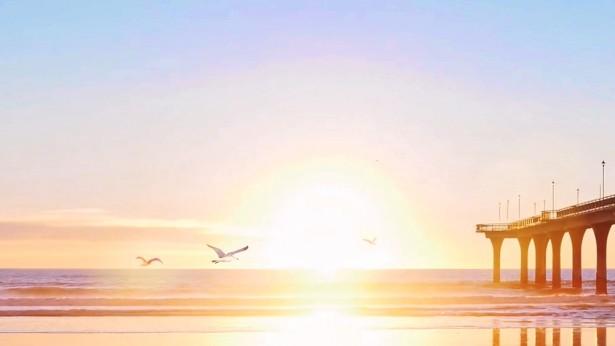 海面上的阳光