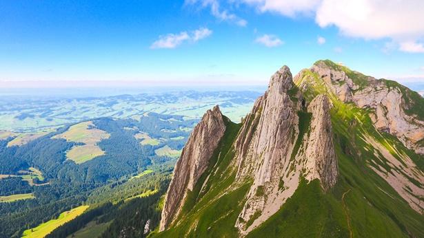大山上的风景