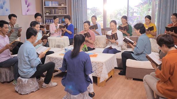 基督徒聚會讀神話語