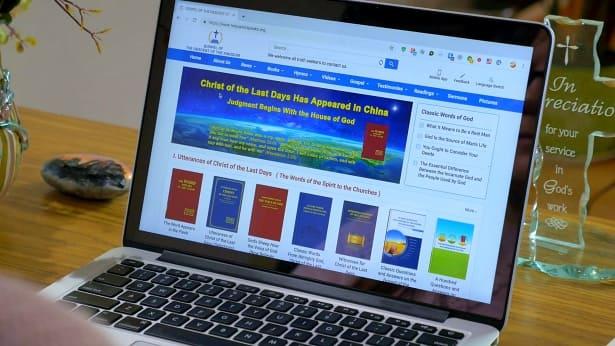 全能神教会的英文网站
