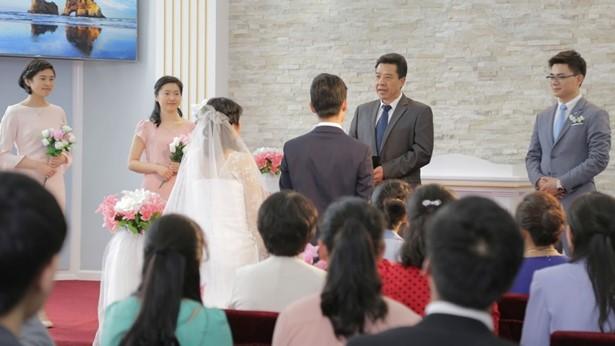 基督徒婚禮